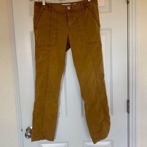 Anthropologie Hei Hei Dark Khaki Pants, Size 28